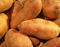 Photograph of Sweet potatoes